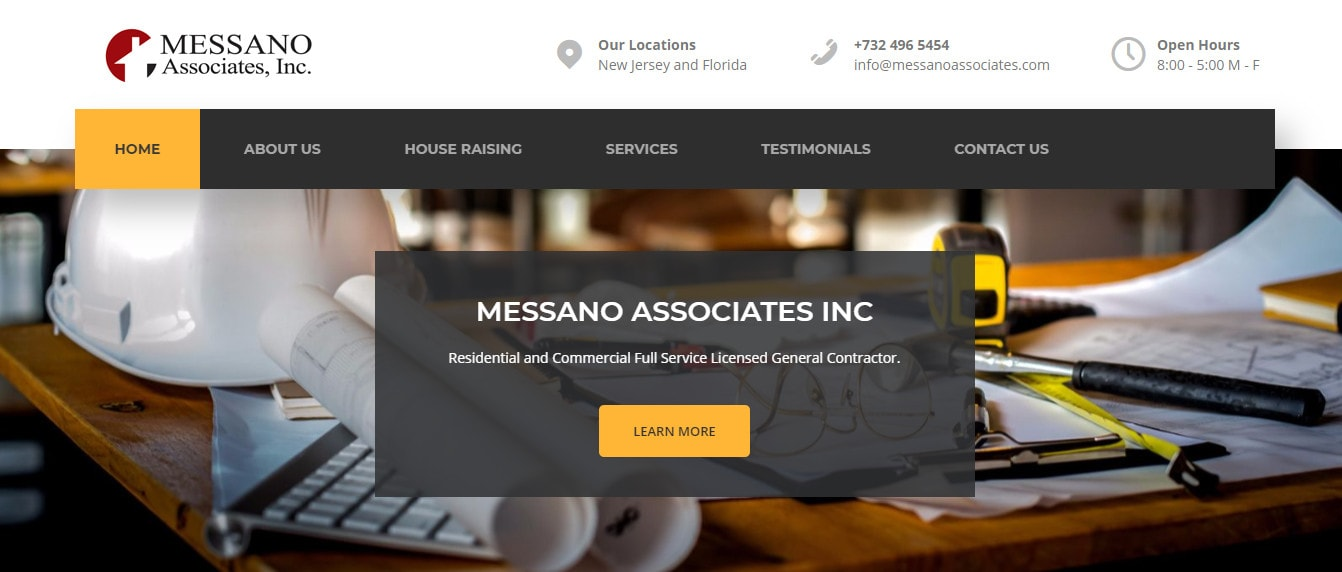 New website for Massano Associates Inc