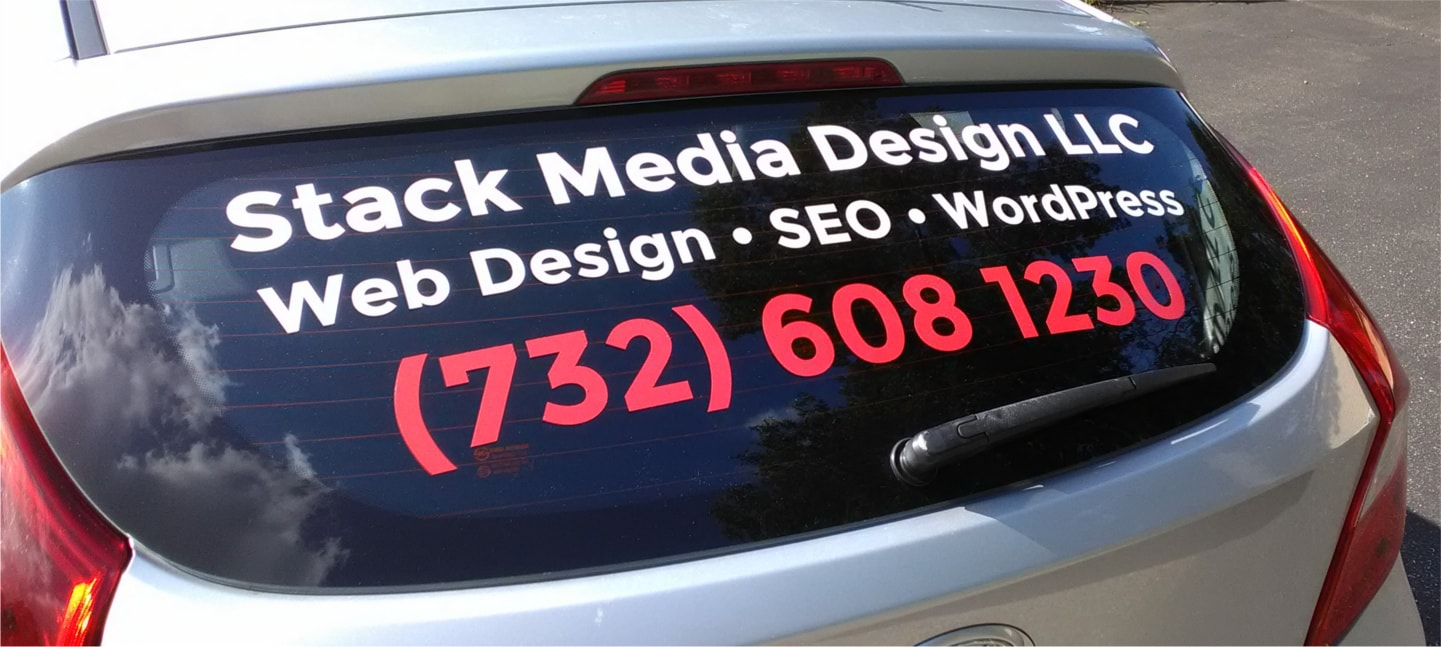 Stack Media Design Company Car
