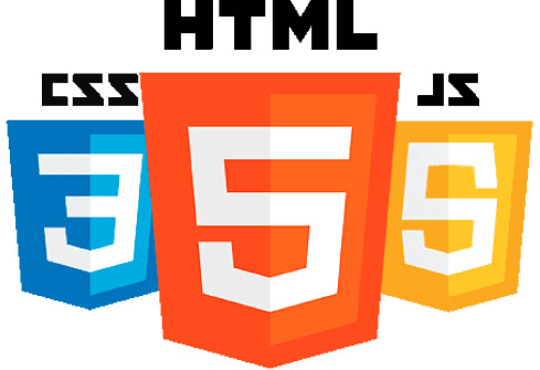NJ web design services in languages HTML, CSS, and JS Logos